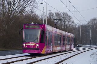 GVB Combino tram 2095, Lijn 17 | Cornelis Lelylaan Amsterdam