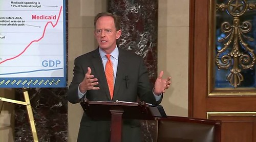 Toomey Urges Action to Preserve Medicaid