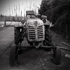 Antique tractor DT-20 (Romeo Koitmäe) Tags: art analog analogue old tractor experied epson agfa isopan 17 10 v700 romeo koitmäe ruin detail white estonia schneider super symmar medium format exposure fine film ages ancient antique ilfosol 3 black history machinery rust corrosion rural develop self process dt20 f64