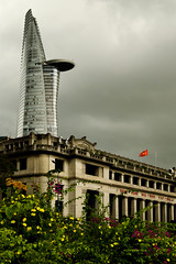 old Saigon & new HCM city (diatoscope) Tags: d7000 nikon việtnam hochimingcity saigon rainy cloud flowers