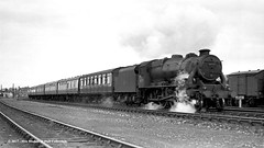 c.1958 - Dringhouses, York. (53A Models) Tags: britishrailways lms caprotti class5 black5 5mt 460 steam passenger dringhouses york train railway locomotive railroad 44757