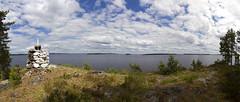 Varpusenlinna (mustohe) Tags: 2017 päijänne kesä summer varpusenlinna panorama