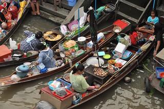 marché flottant amphawa - thailande 20