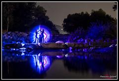 Light painting (torben84) Tags: ligh lightpainting painting disegnareconlaluce luce colore colori blu arancione blue nikon d7200 tamron tamronlens nikond7200 nikondx tuscany toscana