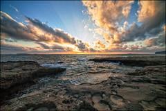 Falasarna sunset (berny-s) Tags: crete falasarna sunset clouds coast landscape evening light beams