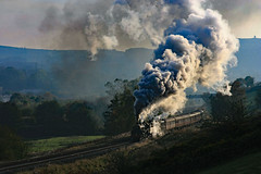 BUXTON CLIMB (fenaybridge) Tags: 40407 5407 76079 kingfisher deryshire buxton steam black5