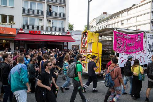 Lieber Tanz ich als G20 - Demo Rave 2017-07-05
