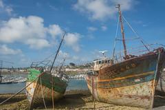Camaret-37-1 (stevefge) Tags: bretagne brittany camaret france coast sea ocean wrecks reflectyourworld decay abandoned sky aground harbour