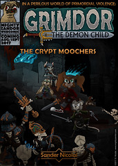 Grimdor - The Crypt Moochers (MightyZandor) Tags: illustration fantasy sword sorcery comedy webcomic adventure cartoon