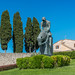 Statue of St Francis in Assisi