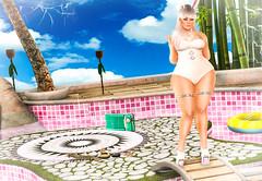 Pool Parties (Johanna Leimes) Tags: bbw blog blogging blogger fat fashion fullfigured fullfigure secondlife sl lindenlabs life plump photoshop phat plumproad dirty secrets envogue