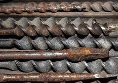 Texture (Jenny Pics) Tags: texture rust dust metal old memberschoice macromondays tones tools hmm