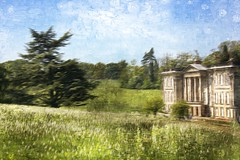 Calke Abbey (Audrey A Jackson) Tags: canon60d calkeabbey derbyshire nature meadow history building trees smartphotoeditor explorer