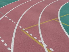 track_1350107 (strange_hair) Tags: tokyo japan street track gym sports curve