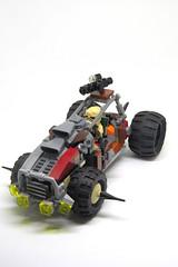 """""""The Hound"""" Mark 2 (Johann Dakitsch) Tags: postapoc lego racer car toy moc creation custom"""