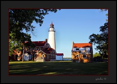 Lighthouse at Pt Huron MI (the Gallopping Geezer '4.8' million + views....) Tags: lighthouse light warning warninglight ships shipping lake greatlakes lakehuron porthuron mi michigan transportation boat travel old historic water lakeside canon 6d geezer 2016