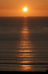 Sunrise Over Spittal Beach (Gilli8888) Tags: sunrise berwickshire coast coastal sea seaside shoreline sun sky beach northsea dawn spittal spittalbeach seascape