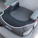 backless baby booster car seat with cup holder