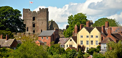 LUDLOW (chris .p) Tags: ludlow nikon d610 view shropshire uk castle town summer 2017 viewpoint july trees history