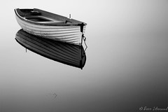 High Key Fishing Boat (buddsnax) Tags: boat highkey bw scotland loch uk fishing