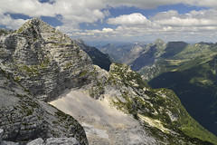 Skydance (matteo.buriola) Tags: friuli slovenia cima confine monte cernaglia panorama landscape paesaggio mountains trekking hiking nikon d3100