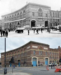 Crosshall Street, 1930s and 2017 (Keithjones84) Tags: liverpool oldliverpool thenandnow merseyside history rephotography
