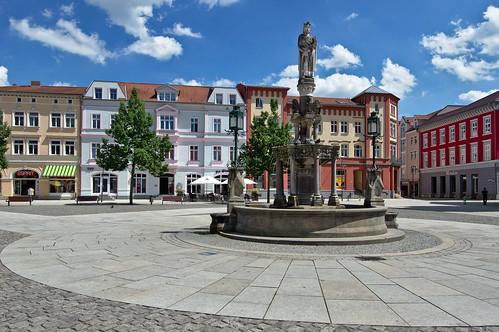Meiningen Market Square