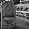 fullsizeoutput_3d0 (MariePnl) Tags: noiretblanc train gare contraste lumière architcture