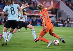 17240747 (roel.ubels) Tags: voetbal vrouwenvoetbal soccer europese kampioenschappen european championships sport topsport 2017 tilburg uefa nederland holland oranje belgië belgium