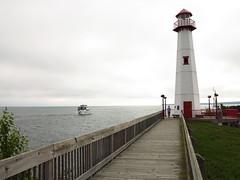 IMG_4259 Wawatam lighthouse & boat (jgagnon63@yahoo.com) Tags: stignace saintignacemi uppermichigan wawatamlighthouse lighthouse greatlakes greatlakeslighthouses straitsofmackinac lakemichiganhuron