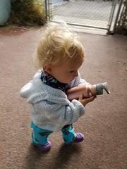Paul has his water bottle (quinn.anya) Tags: paul toddler waterbottle walking cec