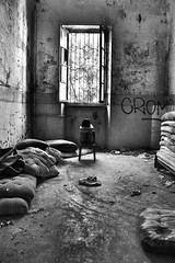 DSC_0302 (NarcisissimoMe) Tags: mombello asylum manicomio limbiate portrait hounted creepy abbandonated lost confusion girl dark metal goth depression suicide scars