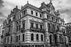 palacio diputación foral de Vizcaya, Bilbao (phooneenix) Tags: palacio diputaciónforal navarra bilbao blackandwhite blancoynegro