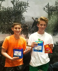 Brothers are Loving their BandarFoods Naan Chips and Emmys Organics Coconut Cookies (The Pop Bag) Tags: newyorktimes film club justins banana chip snack pack peanutbutter dip emmysorganics glutenfree vegan organic nongmo coconut cookies healthy delicious yummy tasty nutritious bandarfoods naanchips chips garlic tikkamasala himalayan pink salt fun exciting amazing warfortheplanet warfortheplanetoftheapes movie event nyc popbag thepopbag