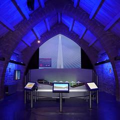 Viaduc de Millau - the exhibition (leuntje) Tags: millau france viaducdemillau rivertarn architecture normanfoster michelvirlogeux rivertarnvalley viaduc cablestayedbridge exhibition