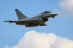 Royal Air Force Typhoon (John Ambler) Tags: displaying royal air station yeovilton international day 2017 john ambler johnambler aviation photographer photographs raf force typhoon