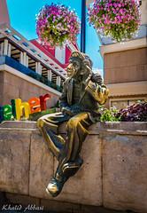 I'm All Ears (Khalid H Abbasi) Tags: sonydscrx100m3 plovdiv bulgaria thegreatgossiperstatue knyazalexanderstreet miljo milyustatue statue bronze ears listening hearing