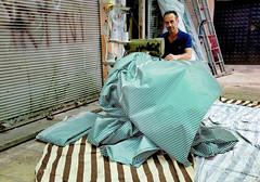 (Everita) Tags: turkey izmir work sowing streets people fujifilmx100s