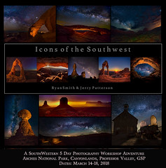 March 2018 Icons of the Southwest Workshop Adventure (Jerry T Patterson) Tags: milkyway astrophotorgraphy anp canyonlands moab longexposure balancedrock northwindow delicatearch monumentvalley