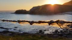 Shegra 3 (Craig Sparks) Tags: shegra sheigra polin polinbeach beach scotland sunset mountains sea foam reflection craigsparks chongsparks