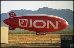 N154ZP - Tucson Ryan Field (RYN) 19.04.2003 (Jakob_DK) Tags: 2003 ryn kryn ryanairfield ryanfield thelightshipgroup americanblimpcompany americanblimpcompanya170 a170
