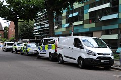 NEW  British Transport Police  UNMARKED VAN FORD (robertbeale999) Tags: ford transitconnect