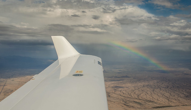 Rainbow from 6000ft