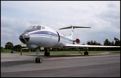 RA-65760 - Fairford (FFD) 24.07.1993 (Jakob_DK) Tags: 1993 ffd egva fairford fairfordairbase raffairford aeroflot gromov gromovflightresearchinstitute tupolev tupolev134 tupolev134a tu134 tu134a crusty