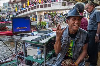marché flottant amphawa - thailande 14