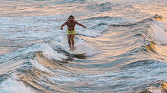 (Deliberate Spoonerism) Tags: sky sun water ocean surf surfing waves man guy person board canon 5d mark iii 70200mm f4 is l action color contrast detail sharp sharpness
