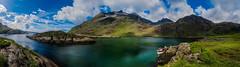 Eilean Glas, Loch na Cuilce (mkcaliber) Tags: eilean glas loch na cuilce panorama samsungs7 elgol isleofskye