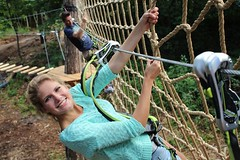 High-volume #ropescourse for amusement parks. Exceptional customer #experience #highropes http://j.mp/2pXg2jD (Skywalker Adventure Builders) Tags: high ropes course zipline zipwire construction design klimpark klimbos hochseilgarten waldseilpark skywalker