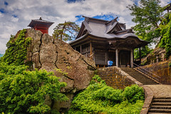 Yamadera @ Tohoku (Marcel Tuit | www.marceltuit.nl) Tags: 1016stairs 1016treden 2017 asia azië canon canon6d eos holland japan june juni me marceltuit may nederland nihon nippon thenetherlands vakantie contactmarceltuitnl eiland fareast holiday island mei reis rock rondreis rots roundtrip stairs tempel temple trap travel verreoosten vliegreis wwwmarceltuitnl yamadera