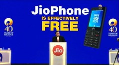 Reliance Jio Announces Its 4G Feature Phone At An Effective Price Of Rs. 0(Free) (sarvesh12) Tags: jio 4g feature phone for free